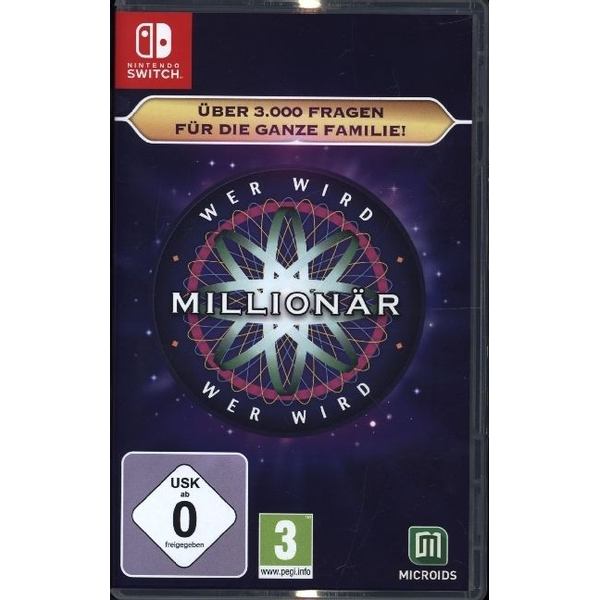 GAME - GAME Who Wants To Be A Millionaire Basic German, English Nintendo Switch