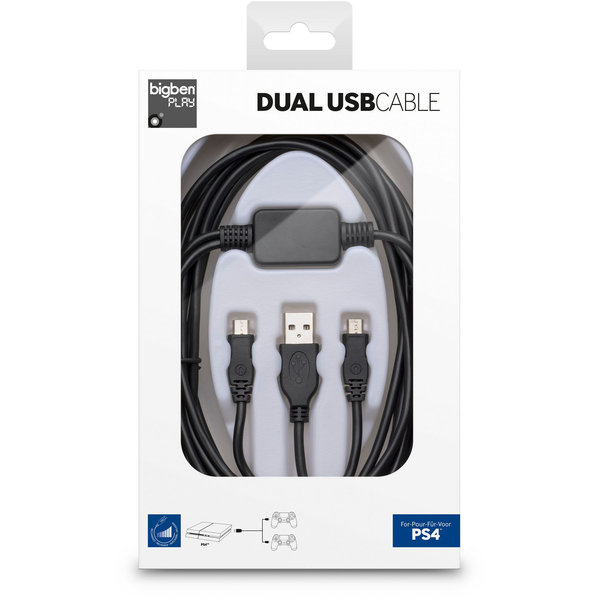FLASHPOINT - Bigben Interactive Dual USB Cable