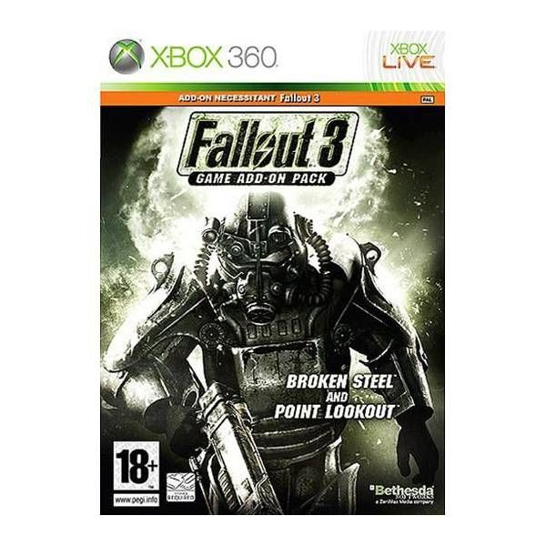 - Atari Fallout 3: Broken Steel + Point Lookout French Xbox 360