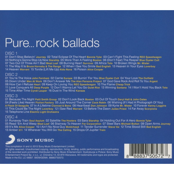 Various - Pure...Rock Ballads