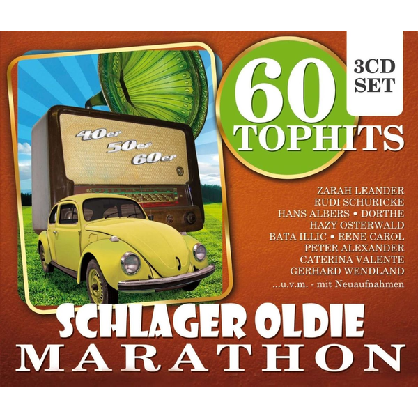Various - 60 Top Hits Schlager Oldie