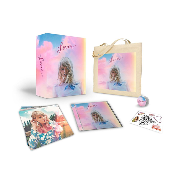 Swift,Taylor - LOVER (LIMITED DELUXE CD BOXSET)