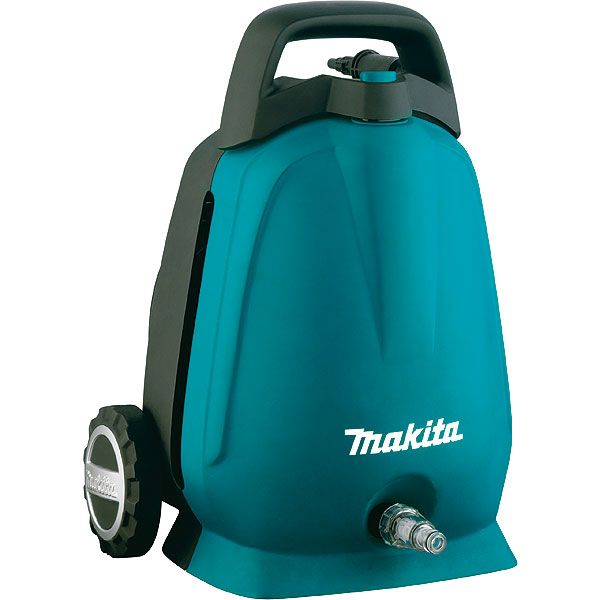 - Makita HW102 pressure washer Compact Electric 360 l/h 1300 W Black, Turquoise