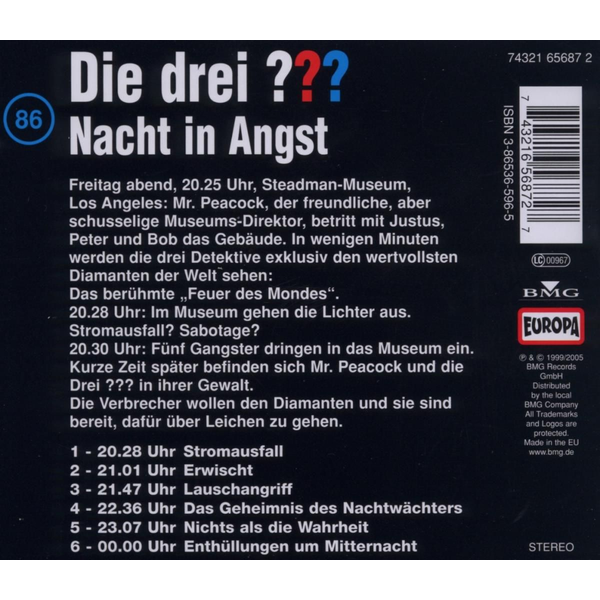 Sony Music Entertainment - 086/Nacht In Angst
