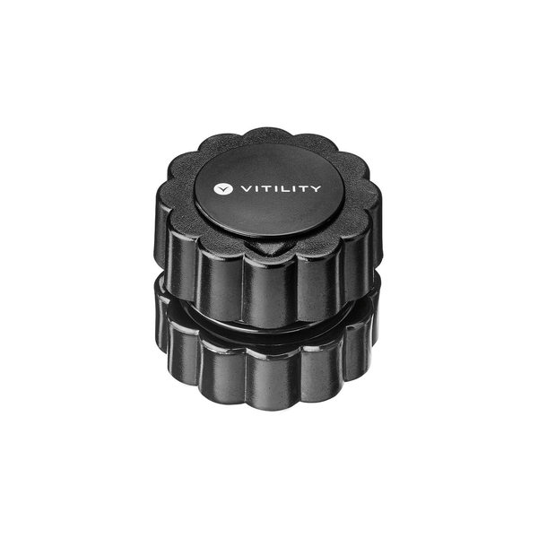- Vitility 70610070 pill crusher/splitter Black 72 g