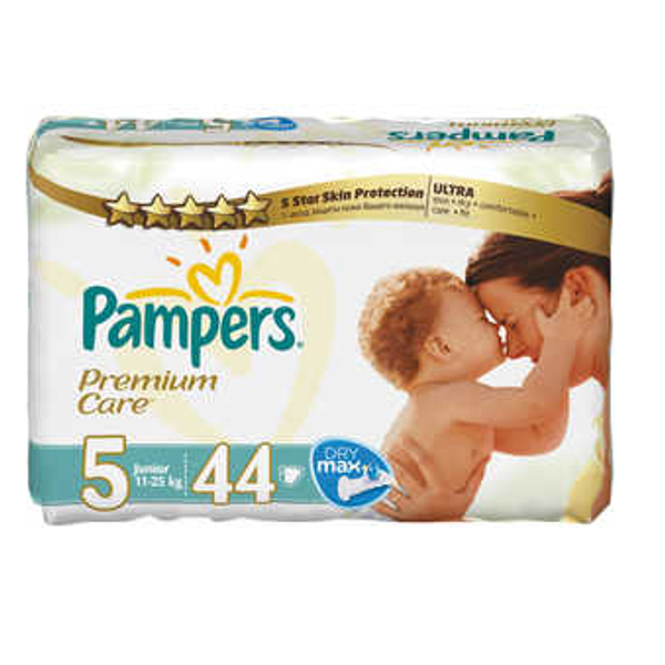 - Pampers Premium Care , 5, 11 - 25 kg 44 pc(s)