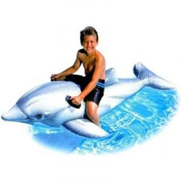 Intex - Intex Lil' Dolphin Ride-On inflatable toy