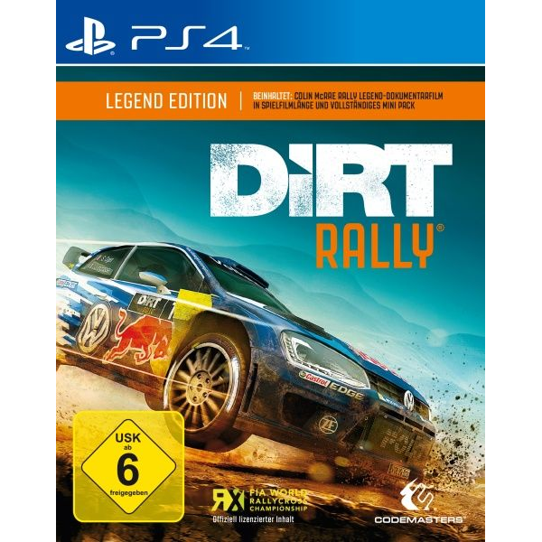 - Codemasters DiRT Rally Legend Edition (PS4)