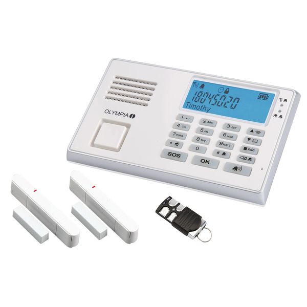 - Olympia 9035 security alarm system White