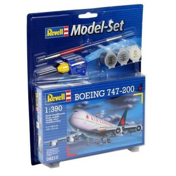 - Revell Boeing 747-200 1:390 Assembly kit Fixed-wing aircraft