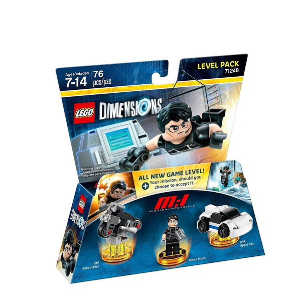 - Warner Bros LEGO Dimensions: Mission Impossible Level Pack