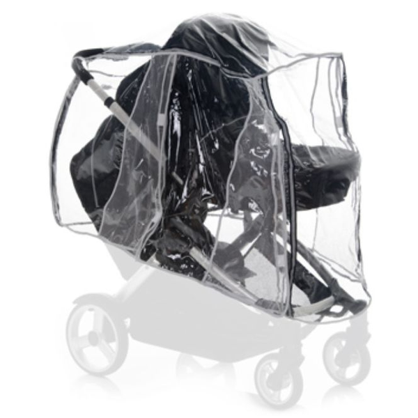 - Hauck 550069 baby carriage raincover Transparent