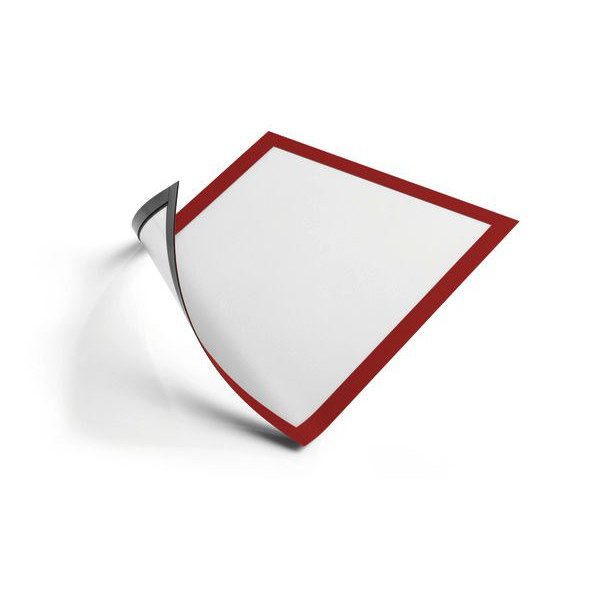 - Durable DURAFRAME magnetic frame A4 Red