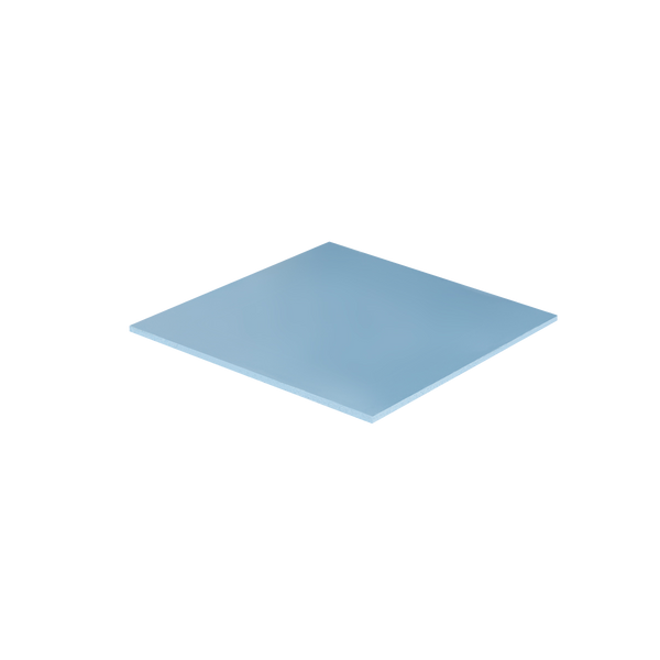 - ARCTIC Thermal Pad 50 x 50 mm (1.0 mm) - High Performance Thermal Pad, Thermal pad, 6 W/m·K, Silicone, Blue, 45%, 3.2 g/cm³