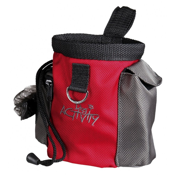 TRIXIE - TRIXIE 32283 dog treat bag Polyester Grey, Red