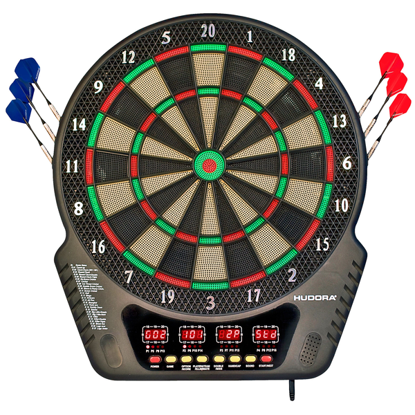- HUDORA 77034 dartboard Adults Electronic