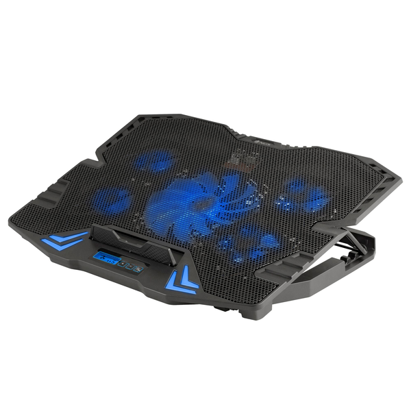 """- NGS GCX-400 notebook cooling pad 43.2 cm (17"""") 2500 RPM Black"""
