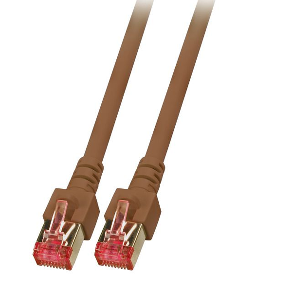 - EFB Elektronik K5517.20 networking cable Brown 20 m Cat6 S/FTP (S-STP)