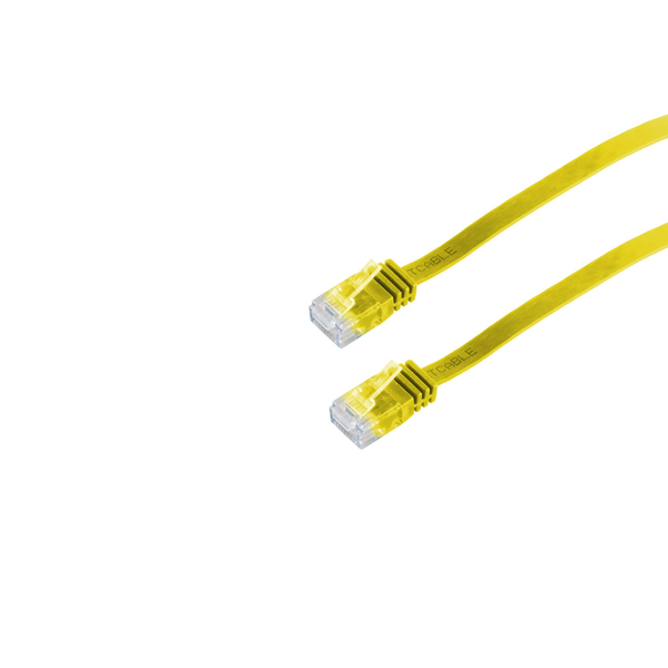 - Helos 148734 networking cable Yellow 0.5 m Cat6 U/UTP (UTP)