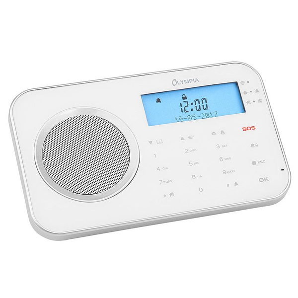 - Olympia ProHome 8700 security alarm system Wi-Fi White