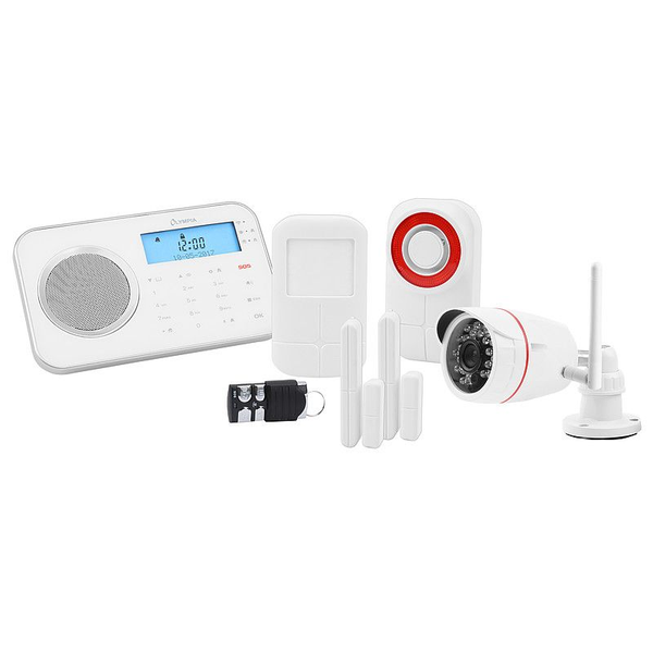 - Olympia ProHome 8791 security alarm system Wi-Fi Black, Red, White