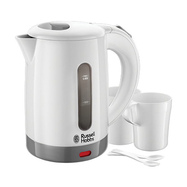 - Russell Hobbs 23840-70 electric kettle 0.85 L 1000 W Grey, White