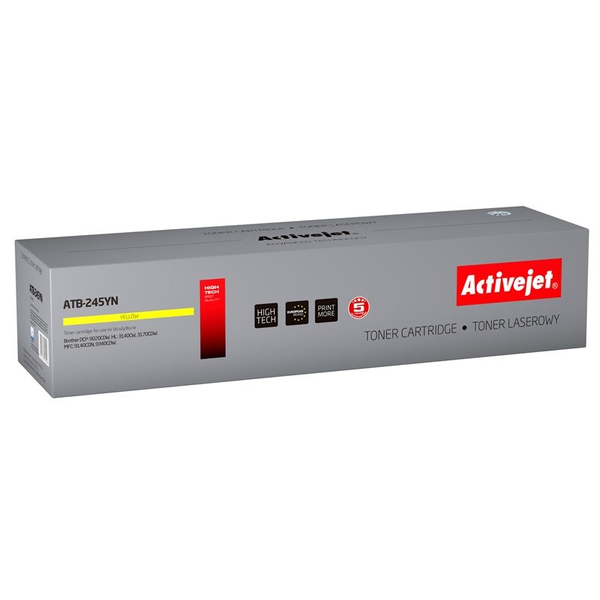 Activejet Activejet ATB-245YN toner for Brother printer; TN-245Y new replacement