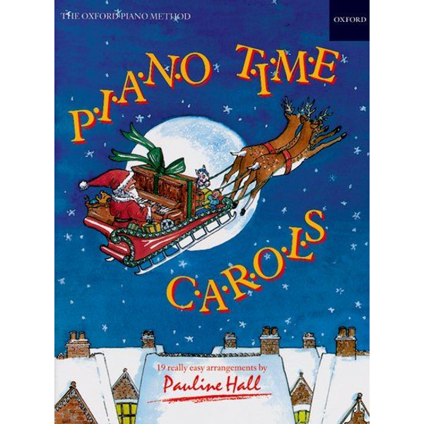 Pauline Hall - ISBN Piano Time Carols book 28 pages