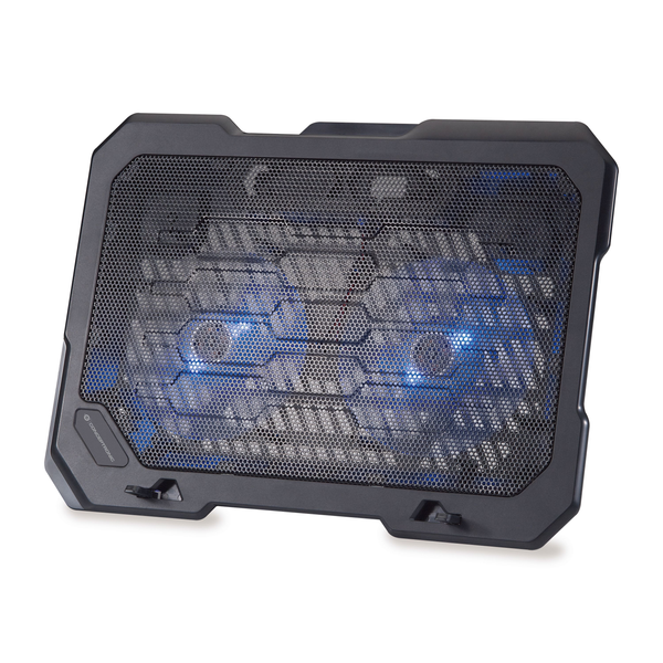 """Conceptronic - Conceptronic THANA Notebook Cooling Pad, Fits up to 15.6"""", 2-Fan"""