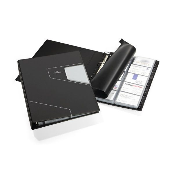 Durable - Durable 246258 business card holder Anthracite