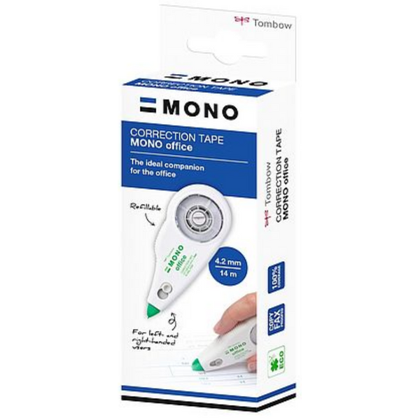 - Tombow CT-CXE4 correction tape refill Retractable mechanism White