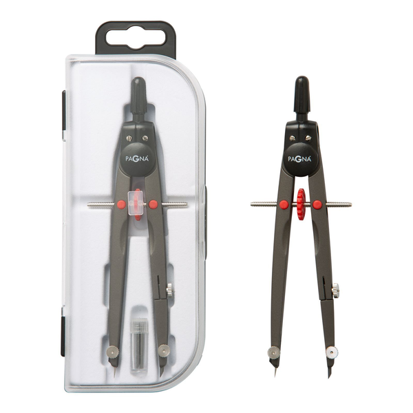 Pagna - Pagna 23011-03 bow compass Black, Grey, Red