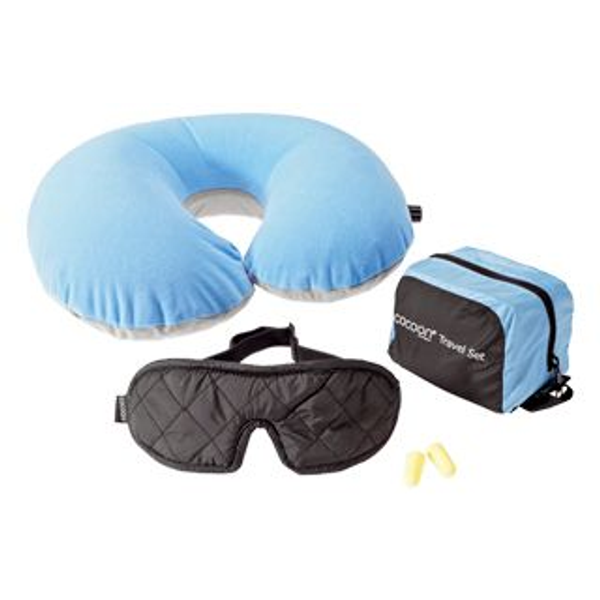 cocoon - Cocoon TSL1 travel pillow Inflatable Blue, Grey
