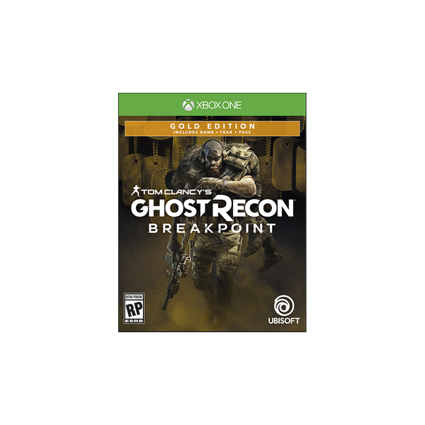 - Ubisoft Tom Clancy's Ghost Recon Breakpoint Gold Edition Xbox One