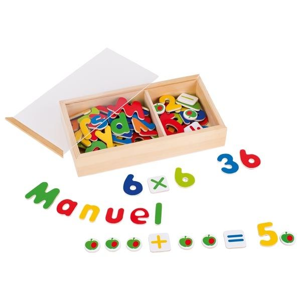 - Goki Magnetic Alphabet and Numbers