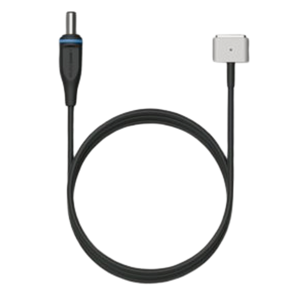 omnicharge - Omnicharge OA51A003 power cable Black 1 m