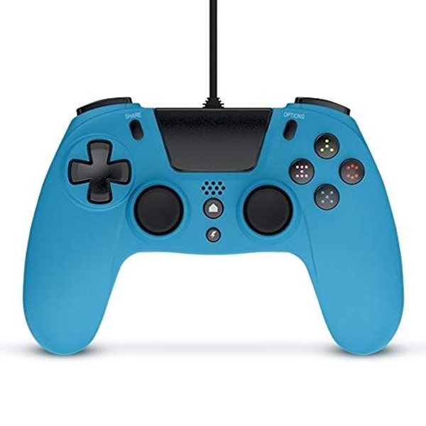 - Gioteck VX-4 Blue Gamepad Analogue / Digital PlayStation 4