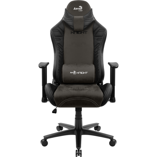 - Aerocool KNIGHT AeroSuede Universal gaming chair Black