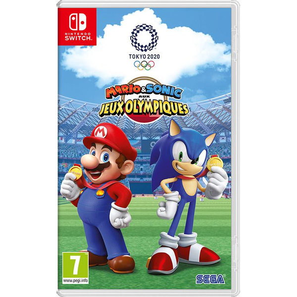 - Nintendo Mario & Sonic aux Jeux Olympiques de Tokyo 2020 Basic English, French Nintendo Switch