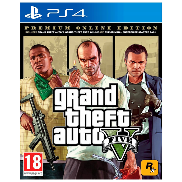 - Sony Grand Theft Auto V: Premium Edition, PS4 Englisch PlayStation 4