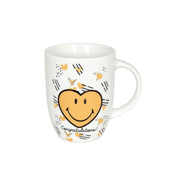 - Könitz Porzellan 41 1 103 1022 cup Black, White, Yellow Universal 1 pc(s)