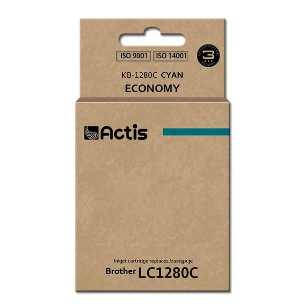 ACTIS - Actis KB-1280C ink cartridge for Brother printer (Brother LC-1280C replacement) standard