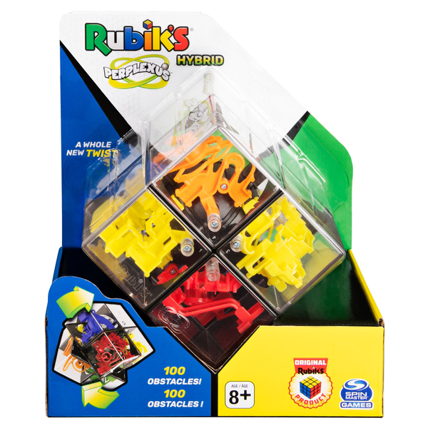 Spin Master - Spin Master Games Rubik's Perplexus Hybrid 2 x 2, Challenging Puzzle Maze Ball Skill Game for Ages 8 & Up