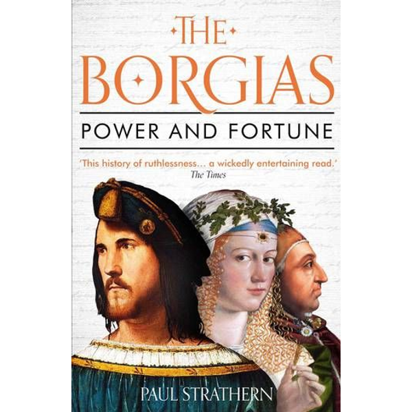 Strathern, Paul - ISBN The Borgias book Paperback 400 pages