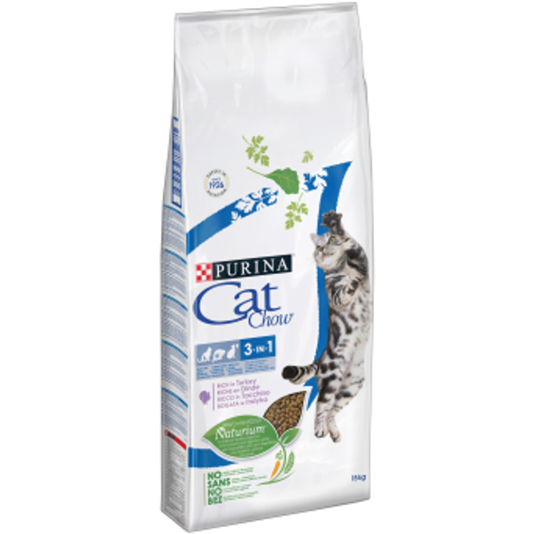 PURINA NESTLE - Purina CAT CHOW cats dry food 1.5 kg Adult Turkey