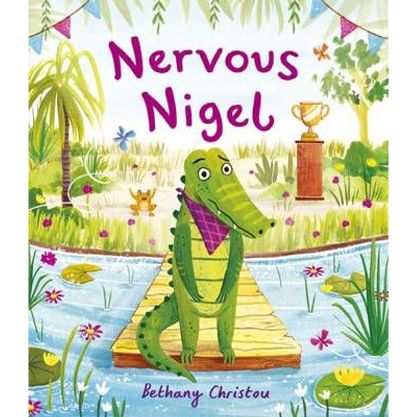 Christou, Bethany - ISBN Nervous Nigel book Paperback 40 pages