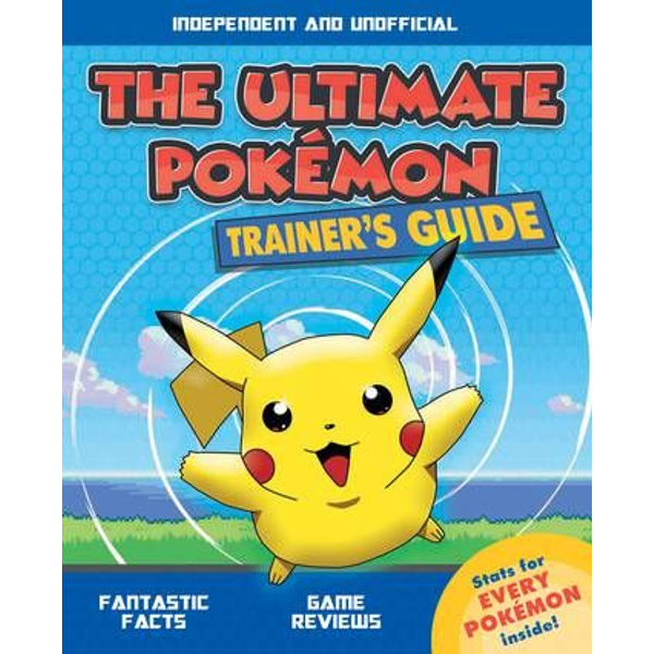 - ISBN The Ultimate Pokemon Trainer's Guide book Paperback 64 pages