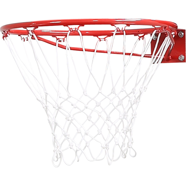 pure2improve - Pure2improve P2I260030 basketball hoop 45 cm Red, White Steel Indoor/outdoor