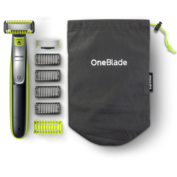 Philips - Philips Norelco OneBlade Trim, edge, shave Face and Body