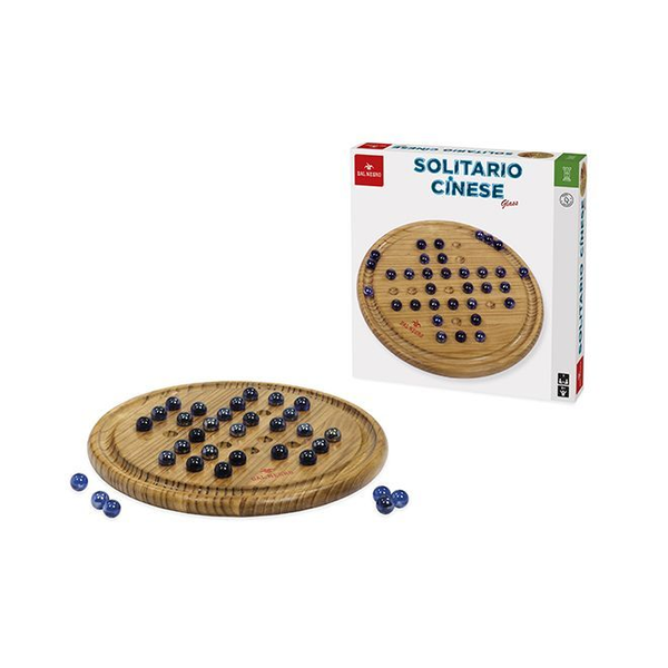 Dal Negro - Dal Negro Solitario Cinese Glass Adults & Children Word board game